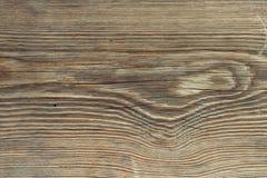 Oude houten bruine raad Achtergrond stock foto's