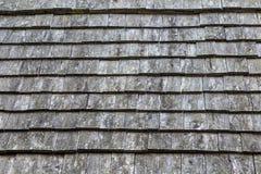Oude houten dakdakspanen Royalty-vrije Stock Afbeeldingen