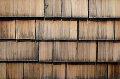 Oude houten dakspaan Royalty-vrije Stock Foto's