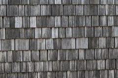Oude houten daktegels Royalty-vrije Stock Foto