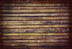 Oude houten de muur van het logboekhuis textuur als achtergrond stock fotografie