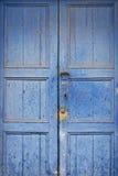 Oude houten deur Stock Foto