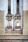Oude houten deur Royalty-vrije Stock Foto