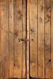 Oude houten deur Royalty-vrije Stock Foto's