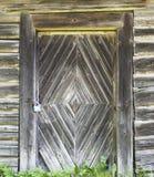 Oude houten deurachtergrond Royalty-vrije Stock Foto