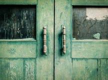 Oude houten deuren royalty-vrije stock foto