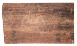 Oude houten die plankentexturen op witte achtergrond worden geïsoleerd Stock Afbeelding