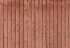 Oude houten doorstane planken Stock Foto