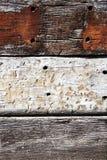 Oude houten eiken plankenachtergrond Stock Afbeeldingen