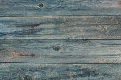 Oude, houten, gebarsten, rotte het werk oppervlakte Stock Foto