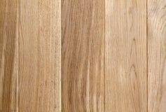 Oude houten gele of bruine textuurachtergrond Raad of panelen Stock Fotografie