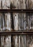 Oude houten omheiningstextuur Royalty-vrije Stock Foto