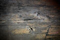 Oude houten geweven achtergrond Royalty-vrije Stock Foto's