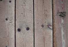 Oude houten geweven raad Royalty-vrije Stock Foto