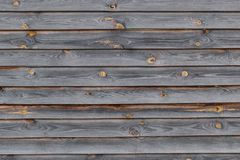 Oude houten grijze Raad, achtergrond, textuur stock fotografie