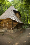 Oude houten kerk Royalty-vrije Stock Fotografie