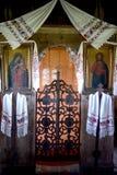 Oude houten kerk Stock Foto