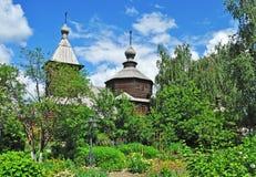 Oude houten kerk in Murom, Rusland Royalty-vrije Stock Afbeelding
