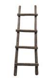 Oude houten ladder Royalty-vrije Stock Afbeelding