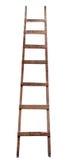 Oude houten ladder Royalty-vrije Stock Foto