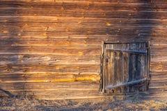 Oude houten muur stock fotografie