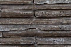 Oude houten muur Stock Foto's