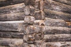 Oude houten muur Stock Afbeelding