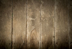 Oude houten muur Zwart-witte achtergrond Stock Afbeeldingen