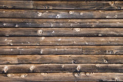 Oude houten muurachtergrond Royalty-vrije Stock Fotografie