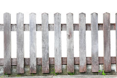 Oude houten omheining Stock Fotografie