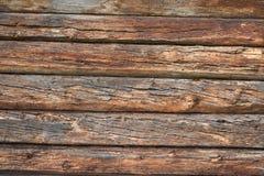 Oude houten omheining, houten textuurachtergrond royalty-vrije stock foto