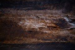 Oude houten oppervlakteraad Stock Foto