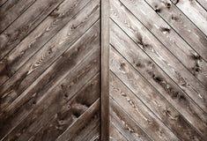 Oude houten panelen Houten Textuur Stock Afbeeldingen