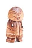 Oude houten peliken. Stock Afbeeldingen