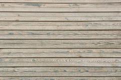 Oude houten plankenraad Stock Foto's