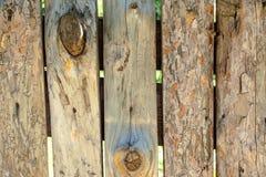 Oude houten planking achtergrond met barsten royalty-vrije stock afbeeldingen