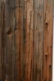 Oude houten poort dichte omhooggaand voor achtergrond Stock Foto's