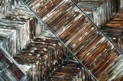 Oude houten raad Stock Foto