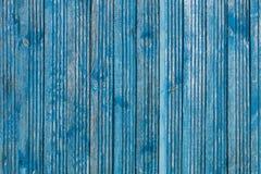 Oude houten raad en sjofele verf, houten textuur Stock Foto's