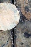 Oude houten raad met natuurlijke textuur Stock Afbeeldingen