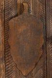 Oude houten scherpe raad stock afbeeldingen