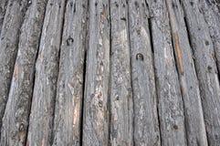 Oude houten schuur Stock Afbeelding