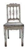 Oude houten stoel Stock Foto's