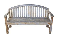 Oude houten stoel Stock Afbeeldingen