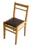 Oude houten stoel. Stock Foto