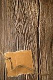 Oude houten textuur en kartonspatie royalty-vrije stock foto's