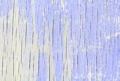 Oude houten textuur met gebarsten violette verf royalty-vrije stock foto