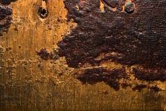 Oude houten textuur met stukken van dichte vernisdeklaag royalty-vrije stock afbeeldingen