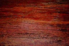 Oude houten textuur van donkere kleur Stock Foto