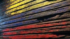 Oude houten textuurapocalyps als achtergrond royalty-vrije illustratie
